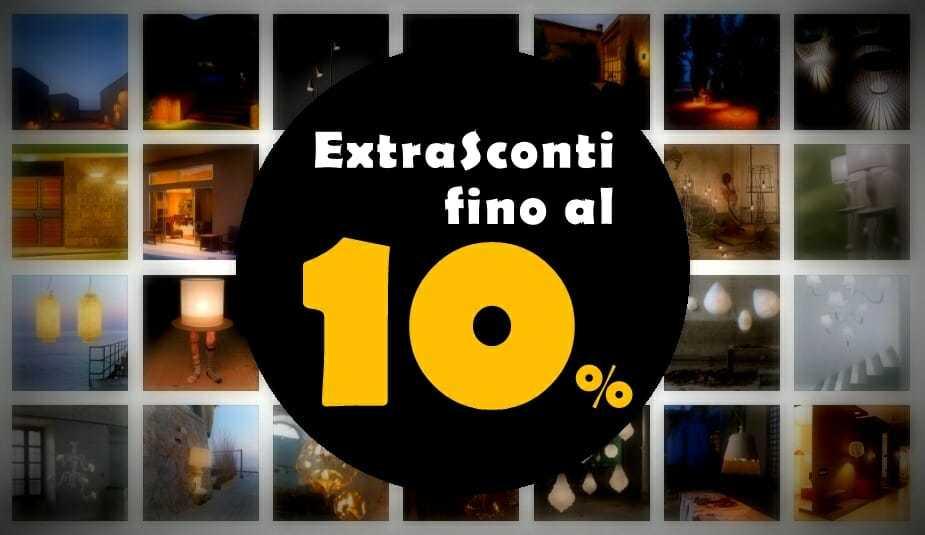 Promozione ExtraSconti fino al 10 %