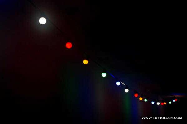 Luci led lampadine colorate per illuminazione alternativa - Ikea luci da esterno ...