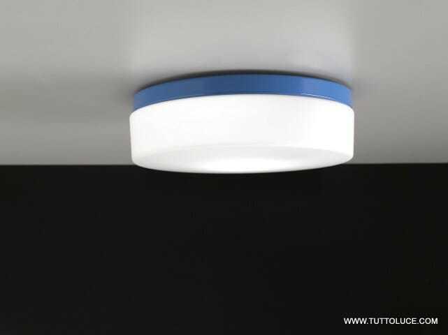 lampade moderne vetro led blu