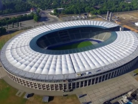 Herta Berlino - Olympiastadion