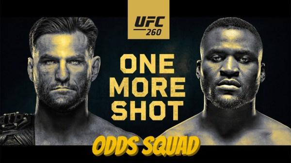 odds squad ufc 260