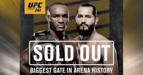 ufc 261 sold out