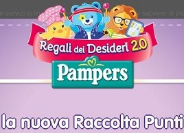 raccolta punti pampers