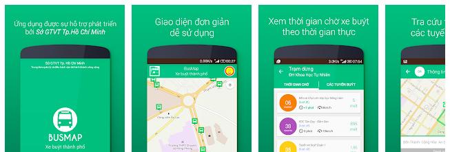 BusMap è una delle applicazioni utili da scaricare quando si è in viaggio in Vietnam perché ti aiuta a spostarti con gli autobus