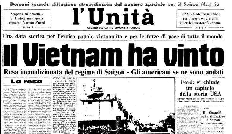 30 aprile 1975 l'unità vietnam