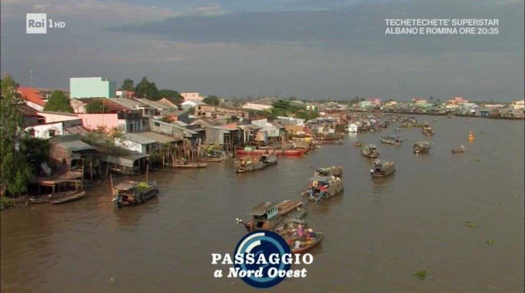 """il Mekong a """"Passaggio a Nord-Ovest"""" di Alberto Angela"""