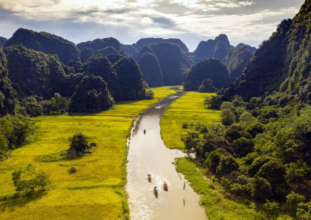 complesso paesaggistico Trang An patrimonio UNESCO Vietnam