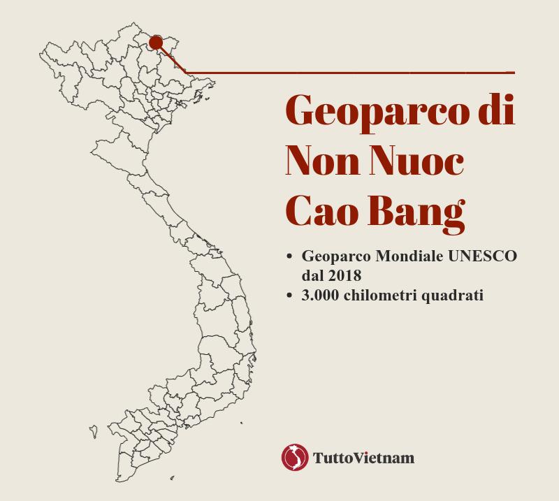 i Geoparchi UNESCO del Vietnam: il Geoparco di Non Nuoc Cao Bang