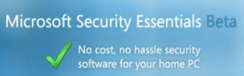 Microsoft Security Essential Beta test