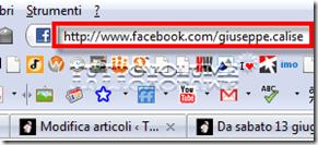 facebook URL personalizzato