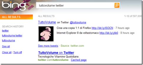 Bing Tweet