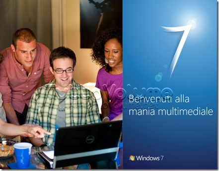 Party Windows 7 mania multimediale