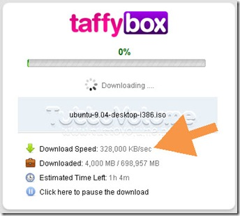taffyBox client torrent java