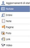 Facebook Aggiornamenti