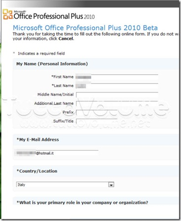 Form download office 2010