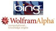 Wolfram Alpha e Bing
