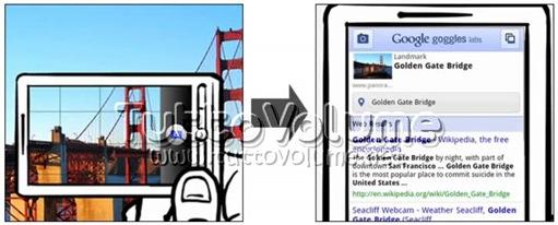 Google Googles paesaggi