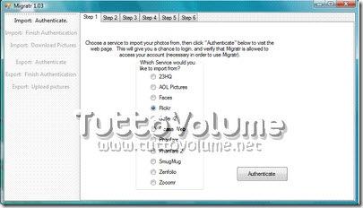 Migratr scelta image hosting