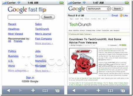 Google-Fast-Flip-Mobile
