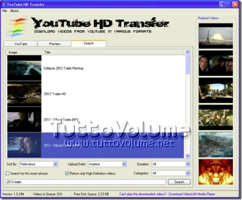 YouTube_HD_Transfer_ricerca_video