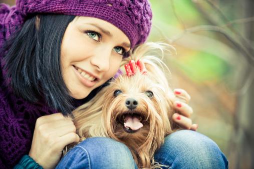san valentino con il proprio cane