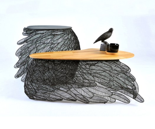 Feather Coffee and Side Table by Apiwat Chitapanya-Asia Collection - A' Design Awards & Competition - Winners 2016 - 2017
