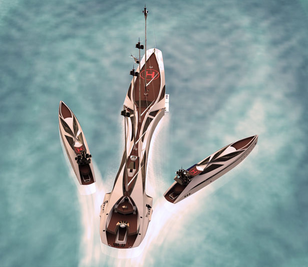 Albatross Yacht by Tarun Sharma