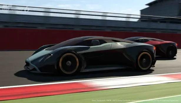 Aston Martin DP-100 Vision Gran Turismo Sports Car