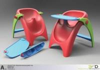 Baby Throne Shower Chair by 3formdesign - Tuvie