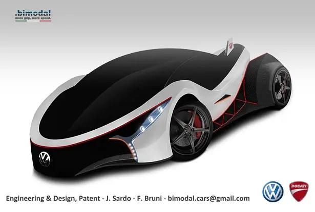 سيارة مفهوم ثنائية الوضع لجو ساردو وفيدريكو بروني
