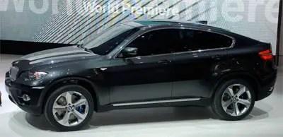 bwm concept car x6
