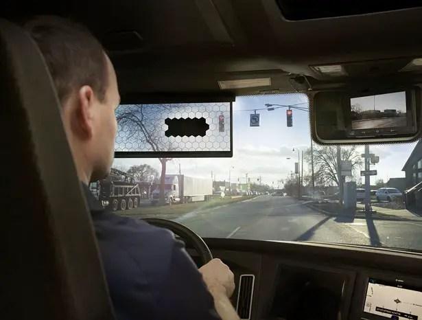 ستغير لوحة LCD الافتراضية من Bosch طريقة رؤية السائقين للطريق
