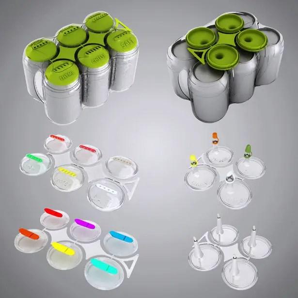 Cans n Caps by Hakan Gursu of DesignNobis