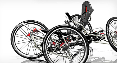 Carvx 4 Wheels Bicycle For Extreme Off Road Experience Tuvie