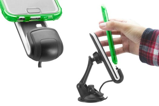 ChargeDock: a Magnetic Universal Phone Dock by Avi Cohen