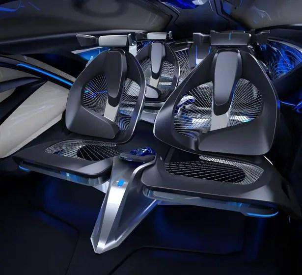 Chevrolet FNR Autonomous Electric Concept Vehicle