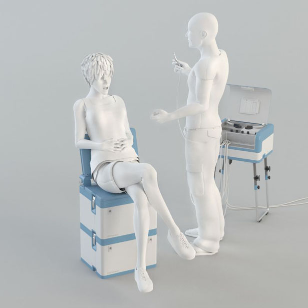 DENTASSIST  Modular Mobile Dental Unit For People With No