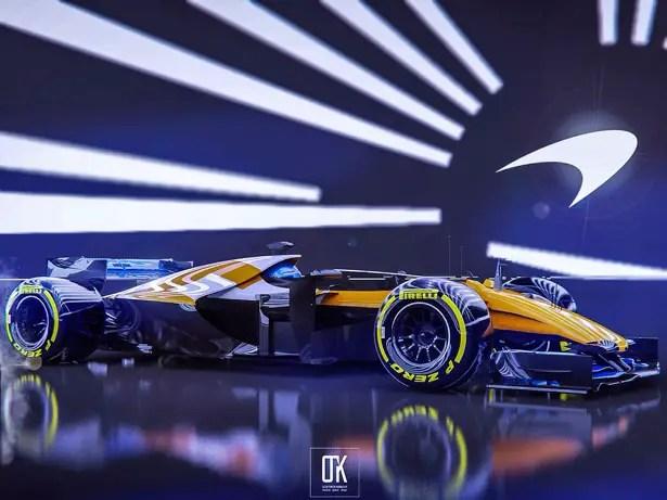 F1 Net Zero Carbon - سلسلة مفهوم سيارات السباق للفورمولا واحد 2030 بواسطة Olcay Tuncay Karabulut