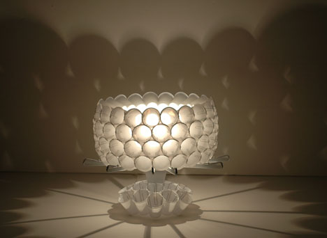Found Objects Lamp Design by Jonathan Ferrer  Tuvie