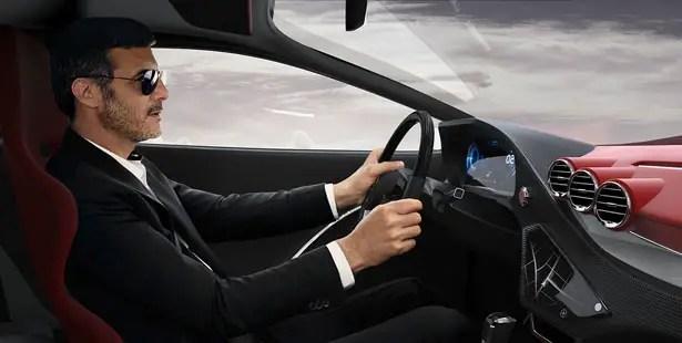 سيارة لامبورغيني إدرويد الاختبارية لماركو شمبري