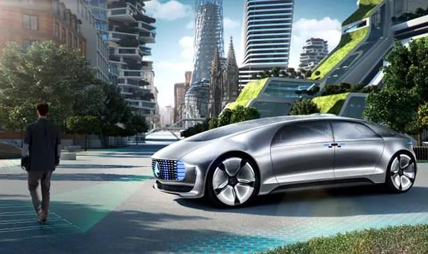 Mercedes-Benz F 015 Luxury in Motion Research Car - Autonomous Car