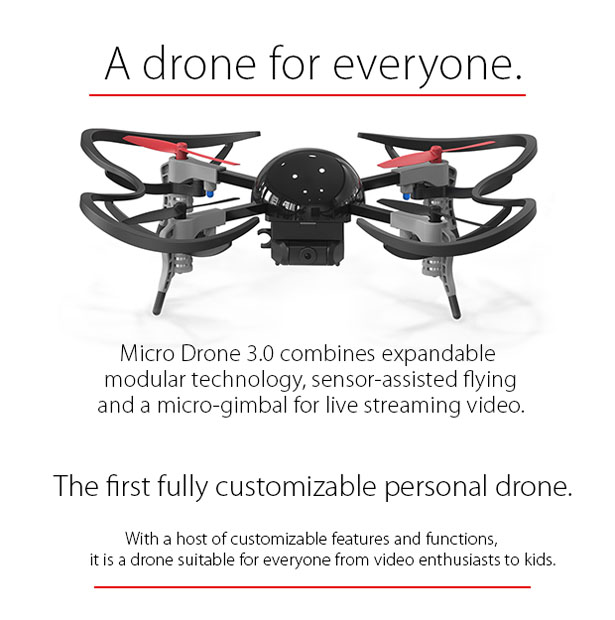 Micro Drone 3.0 by Vernon Kerswell