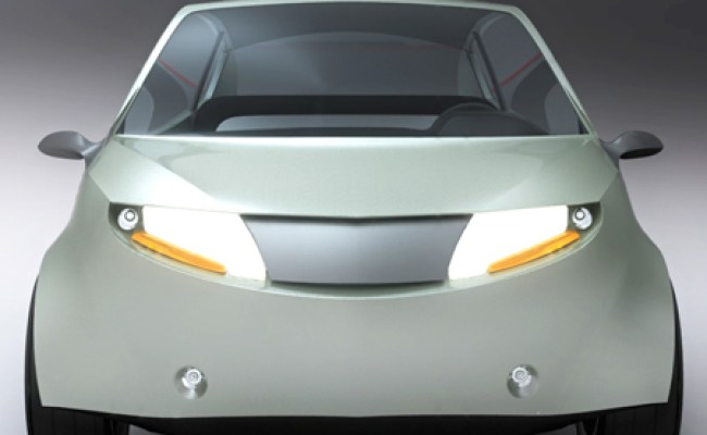 Small Nanus Concept Electric Car For Urban City Tuvie
