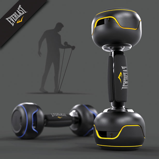 ReCoil Workout System Is A Combination of A Dumbbell and A