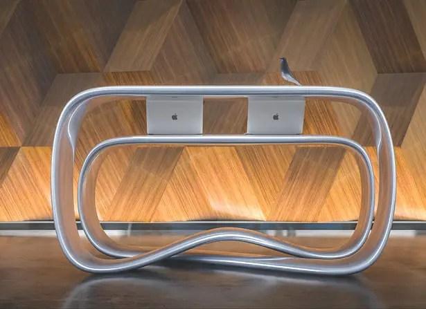 Ryra Reception Desk by Nuvist