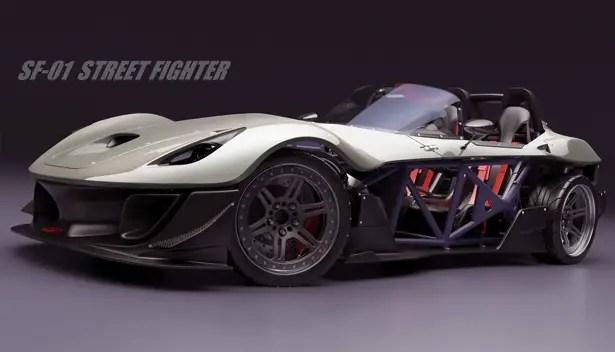 SF-01 Street Fighter Concept Car بواسطة جريج طومسون