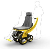 Sliding Wheelchair : Adjustable Wheelchair With Slidable
