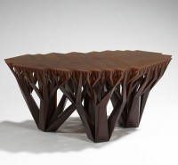 The Unique And Stylish Fractal.MGX Coffee Table Creates A ...