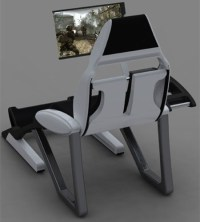 Thrones : Computer Recliner Concept by Anthony Sanchez - Tuvie