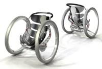 Transformable Wheelchair Concept by Caspar Schmitz - Tuvie